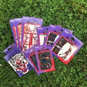 NEW 1996-97 NBA Stickers And Magnets Lot NOS